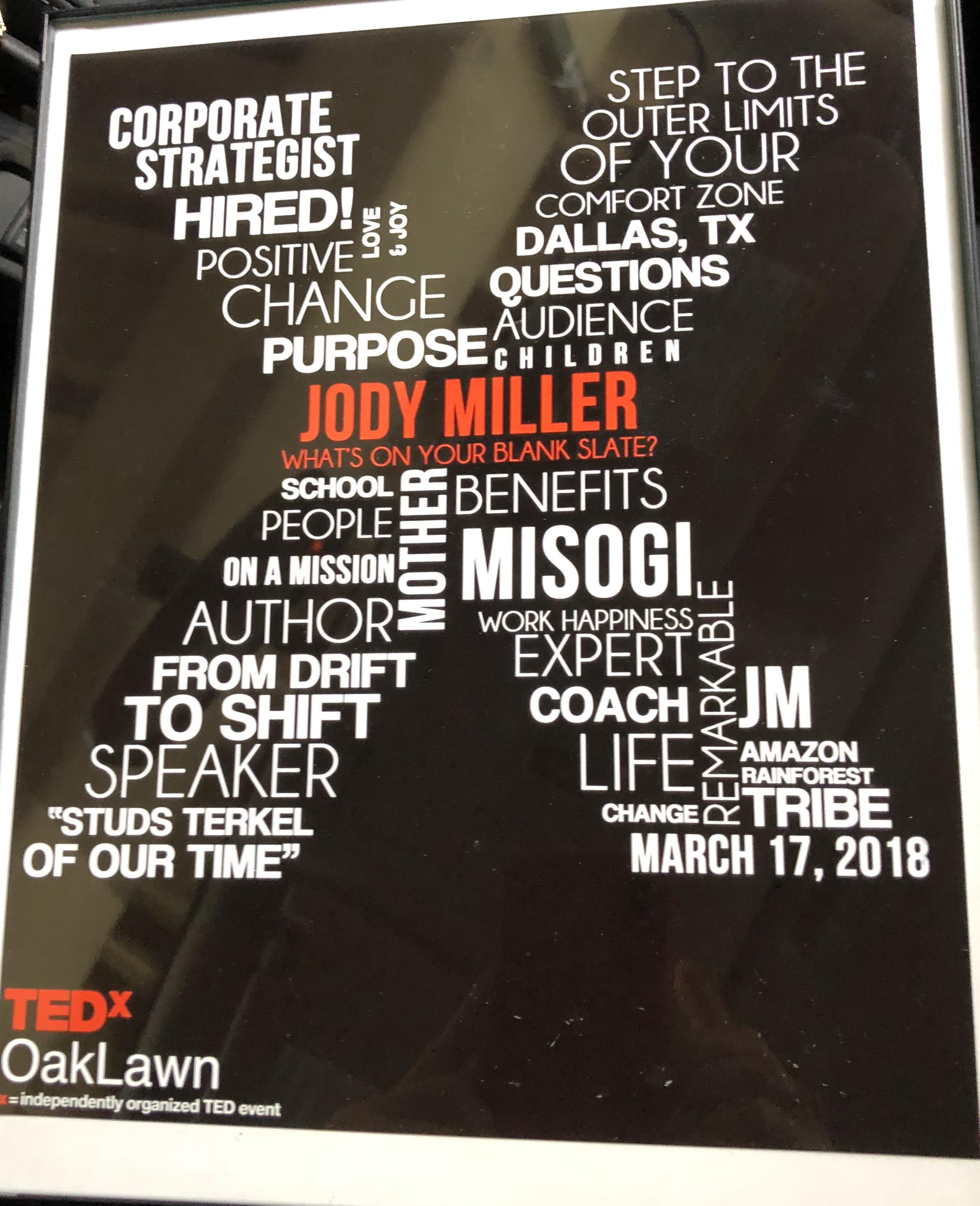 TEDxOakLawn_Jody B. Miller